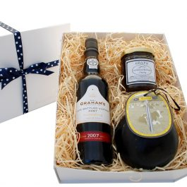 Our Charity Cheese & Port Box - Donate 10% to charity