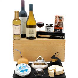 The Connoisseur's Cheese and Wine Hamper