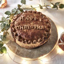 """""""Happy Christmas"""" Pie (3lb)"""