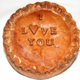 I Love You' Pork Pie (3lb)