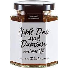 Apple, Date and Damson Chutney (195g)