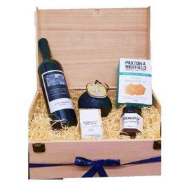 Luxury Cheese & Red Wine Gift Box