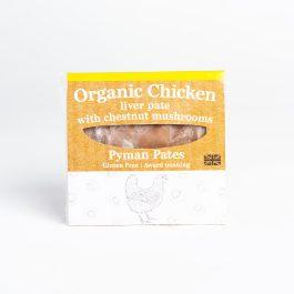 Organic Chicken Liver Pate with Chestnut Mushrooms (110g)