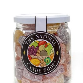 Traditional Jelly Babies in Retro Jar (min 200g)