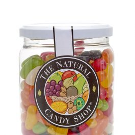 Traditional Jelly Beans in Retro Jar (min 200g)