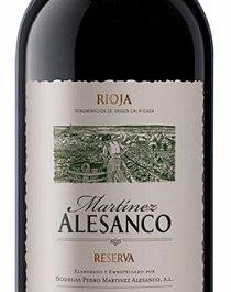 Rioja Reserva - Martinez Alesanco