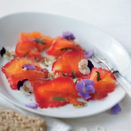 Beetroot & Dill Cured Smoked Salmon 100g
