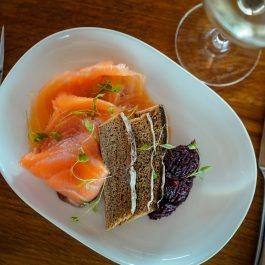 Orange & Tarragon Cured Smoked Salmon 100g