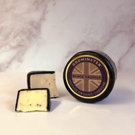 Godminster Black Truffle Vintage Organic Cheddar 200g