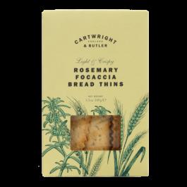 Rosemary Focaccia Bread Thins 100g